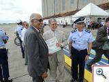 Os Veteranos receberam a homenagem das mãos do Ministro da Defesa, Celso Amorim, e do Comandante da Aeronáutica, Ten Brig Juniti Saito. Foto: Luis Gabriel